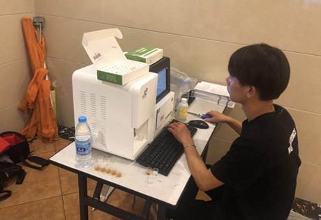 新疆儿童微量元素检测仪谈检查价钱